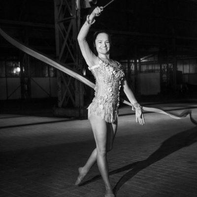 Nederland, Dordrecht, 16-01-2018 Dordtyart Sportverkiezing Dordtsport Genomineerden Lente Verloop, ritmische gymnastiek foto:Ronald van den Heerik
