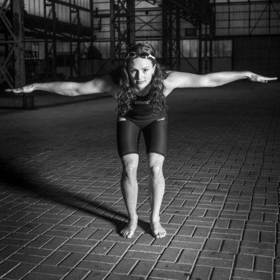 Nederland, Dordrecht, 24-01-2018 Dordtsport, Sportverkiezing 2017 Biesboshal Dordtyart Kim Busch- zwemmen Foto: Ronald van den Heerik