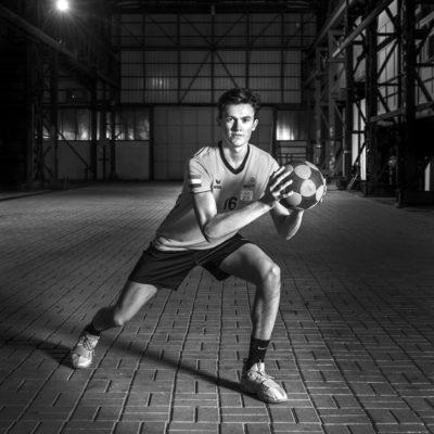 Nederland, Dordrecht, 24-01-2018 Dordtsport, Sportverkiezing 2017 Biesboshal Dordtyart Bo Oppe korfbal Foto: Ronald van den Heerik