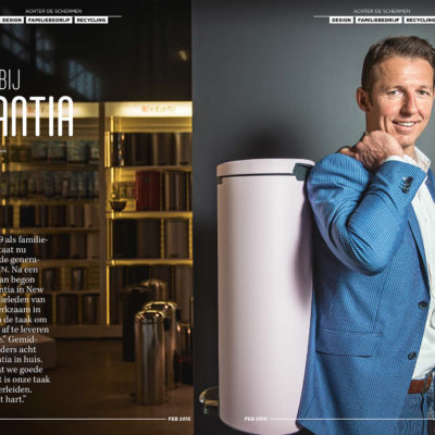 Tijn van Elderen CEO van Brabantia voor Sprout